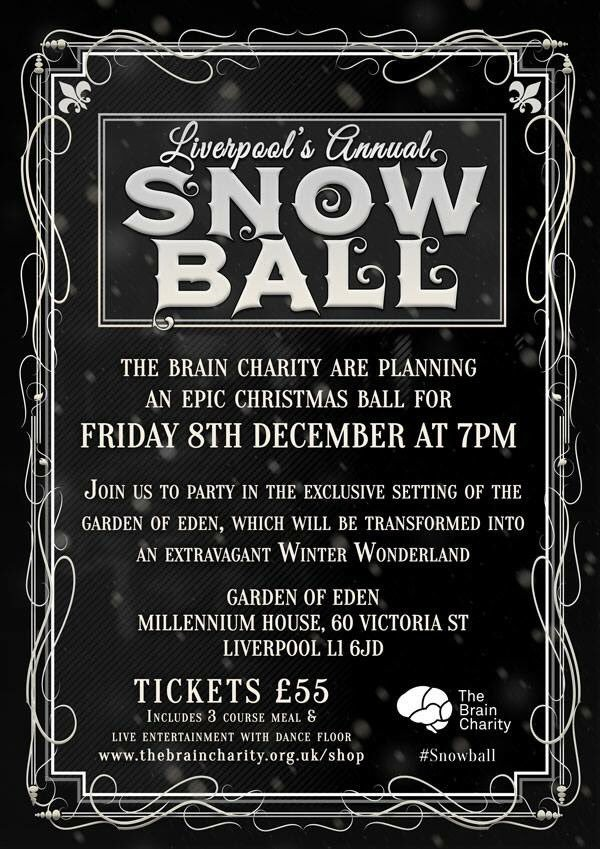 Michael W Halsall Solicitors had a fantastic night at The Brain Charity Christmas Ball 2017