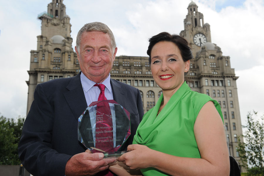 Michael W Halsall's Merseyside Woman of the Year 2015 Angela Samata Wins Winston Churchill Memorial Fellowship